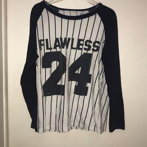 """""""Flawless 24"""" baseball tee"""